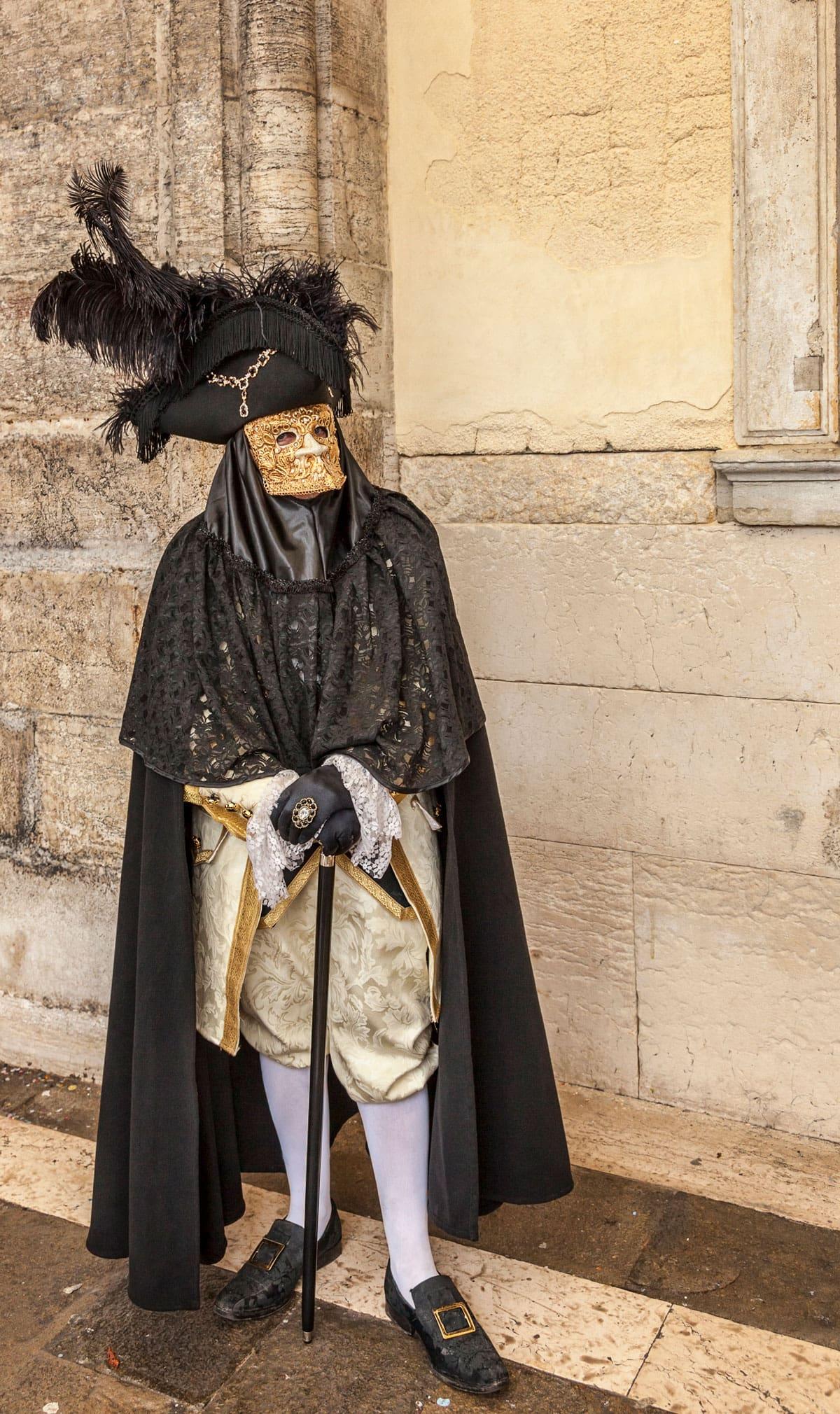Bauta 面具