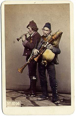 Sommer Giorgio 1834 1914 n. 2796 Zampognari